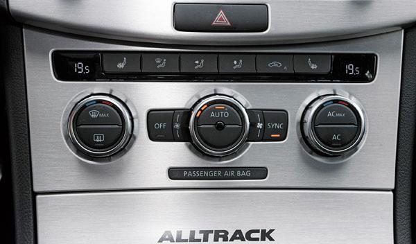 VW Passat Alltrack climatizador