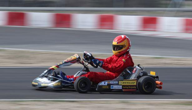 Kart de carreras-lateral