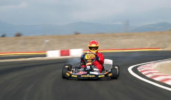 Kart de carreras-frontal