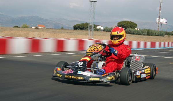 Kart de carreras-kart-coche