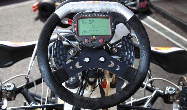 Kart de carreras-volante