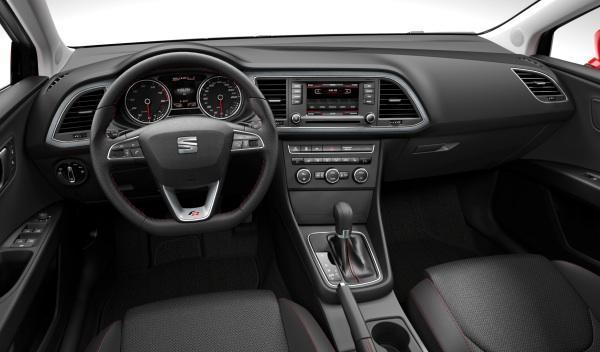 Interior del nuevo Seat León