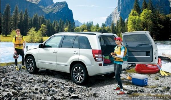 Suzuki Grand Vitara 2013 trasera