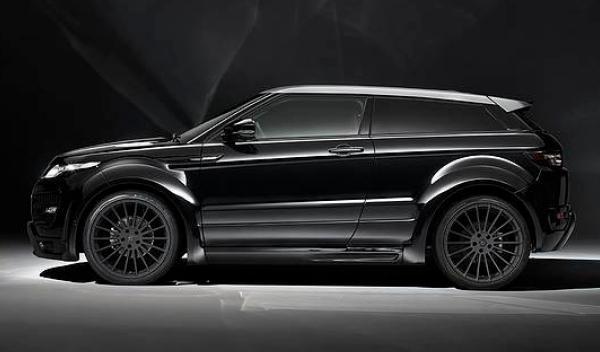 Range Rover Evoque Hamann, lateral
