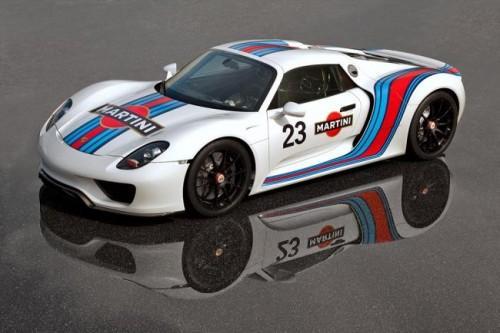 Porsche 918 Martini Racing