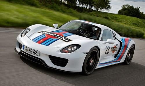Porsche 918 Martini Racing delantera