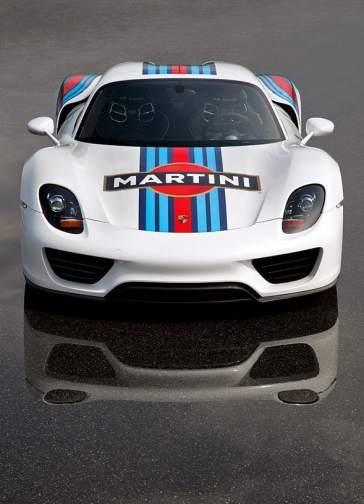 Porsche 918 Martini Racing frontal