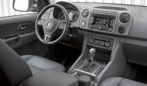 Volkswagen Amarok, interior
