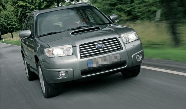 Subaru Forester II, frontal