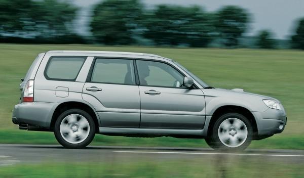 Subaru Forester II, perfil