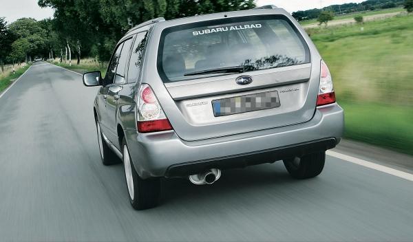 Subaru Forester II, trasera