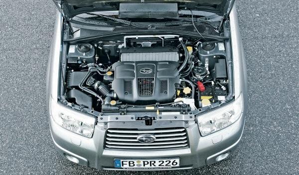 Subaru Forester II, motor