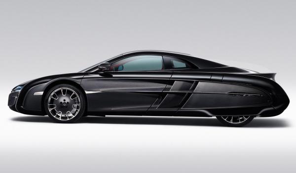 McLaren X-1 Concept perfil