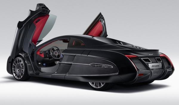 McLaren X-1 Concept trasera