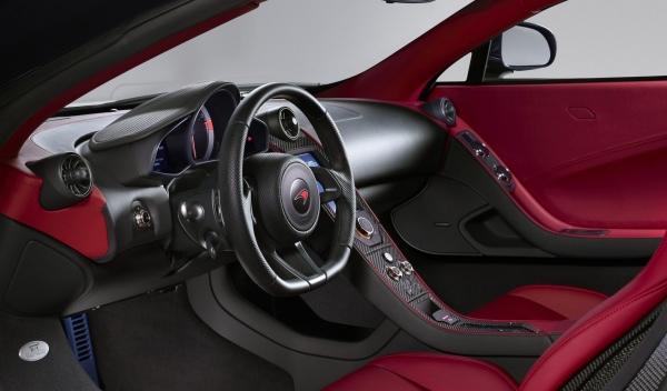 McLaren X-1 Concept interior