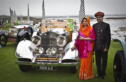 Rolls-Royce Phantom 'Estrella de la India' Pebble Beach 2012