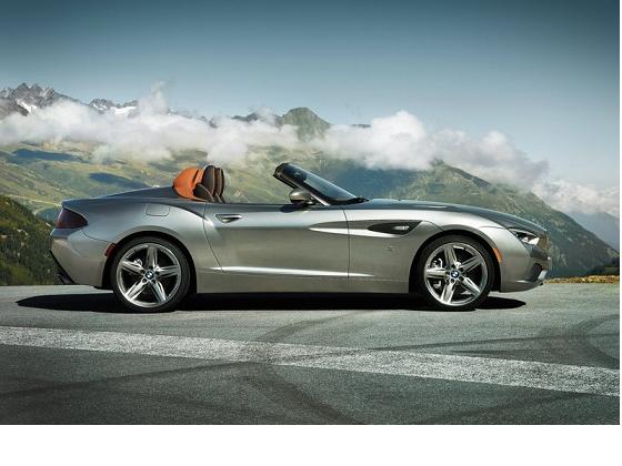 BMW Zagato Roadster lateral