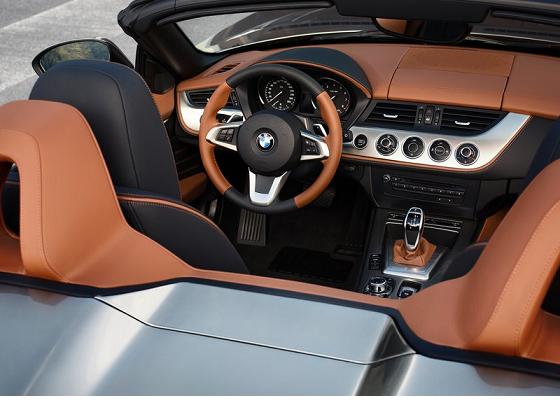 BMW Zagato Roadster interior
