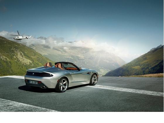 BMW Zagato Roadster trasera