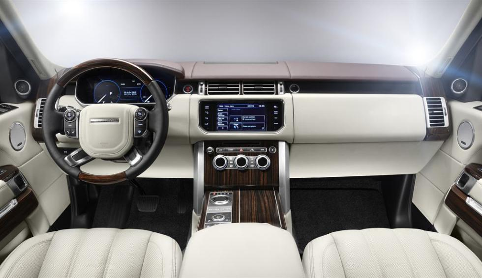 Range Rover 2013, interior