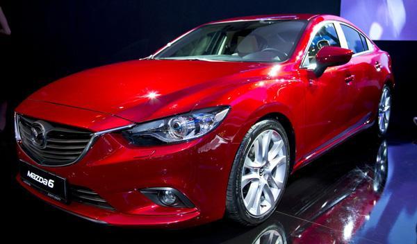 Mazda6 Salon Moscú 2012