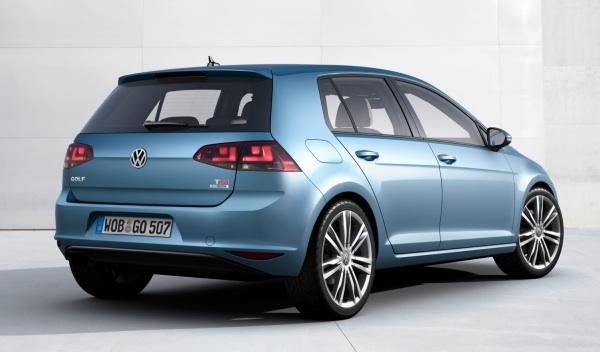 Trasera del Volkswagen Golf 7