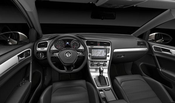 Volkswagen Golf VII interior oscuro