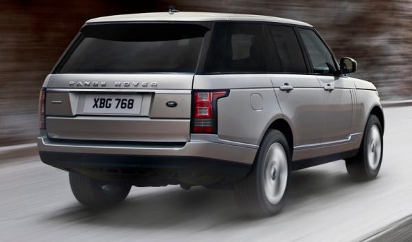Range Rover 2013, Terrain Response