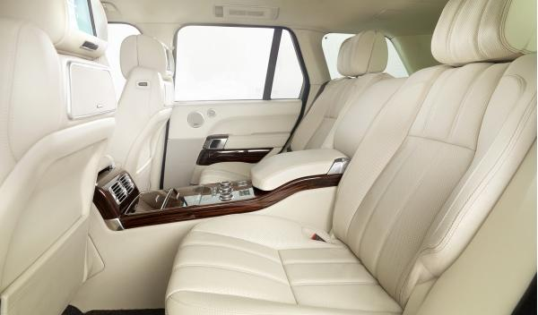 Range Rover 2013, plazas traseras