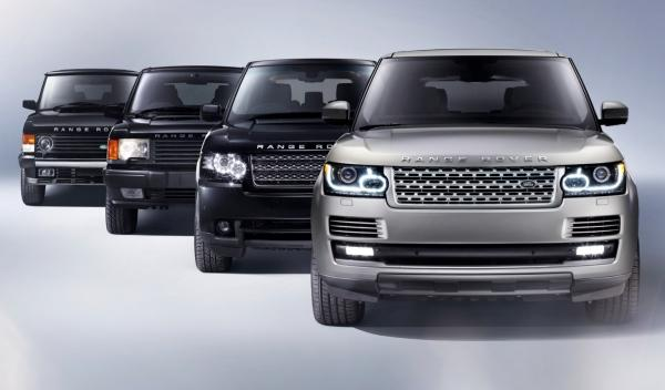 Range Rover 2013, generaciones