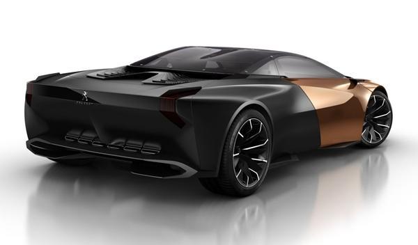 Peugeot Onyx trasera