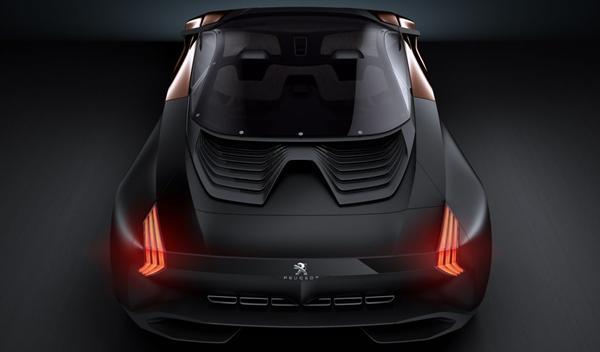 Peugeot Onyx trasera superior
