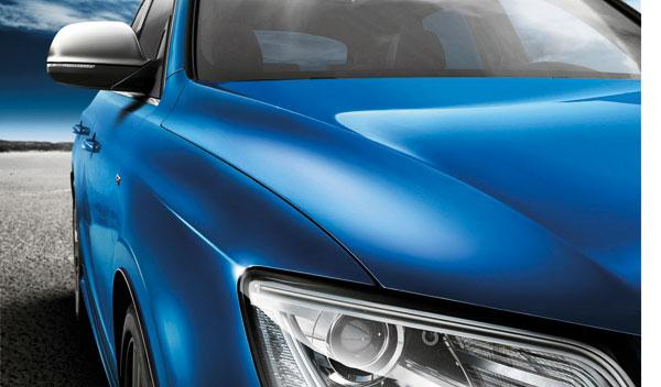 Audi SQ5 TDI exclusive concept faros