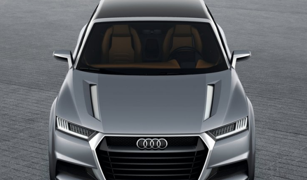 Audi Crosslane Coupé frontal