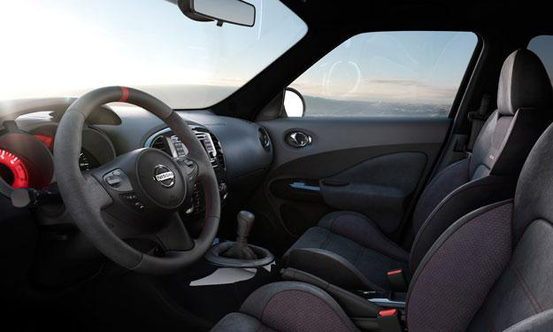 Nissan Juke Nismo asientos