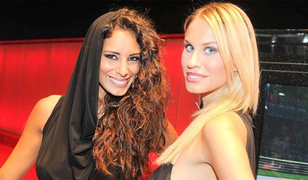 Chicas del Salón de París 2012