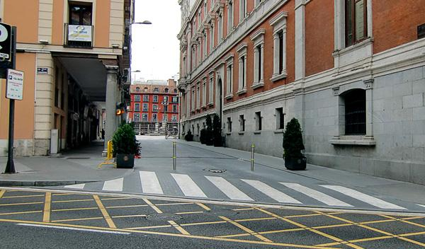 Bolardo Plaza Mayor Valladolid