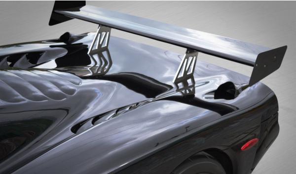 Raptor GTR exterior aleron
