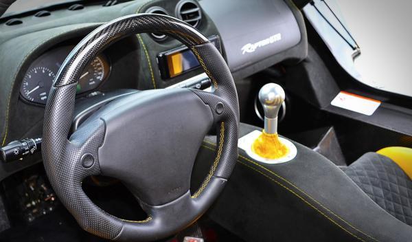 Raptor GTR interior