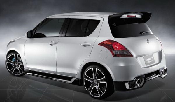 Suzuki Swift Sport trasera