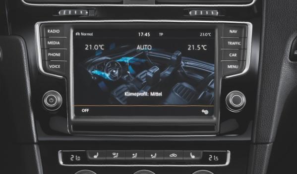 Volkswagen Golf 7 pantalla TFT