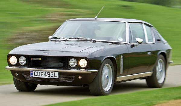 Jensen Interceptor frontal