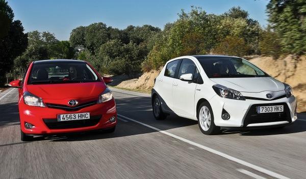 Toyota Yaris híbrido y gasolina