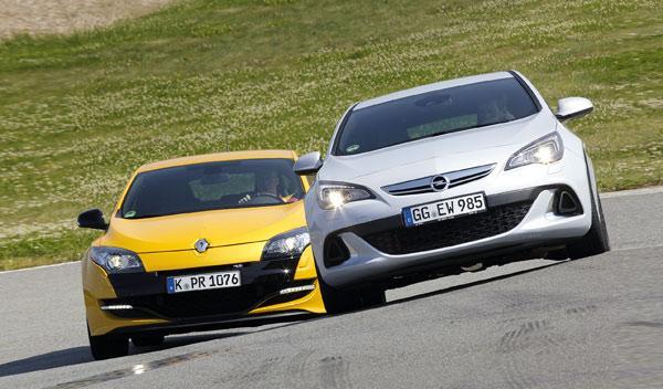 Renault Mégane Sport y Opel Astra OPC