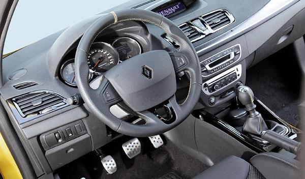 Renault Mégane Sport salpicadero