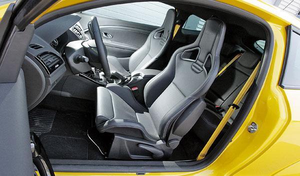 Renault Mégane Sport asientos