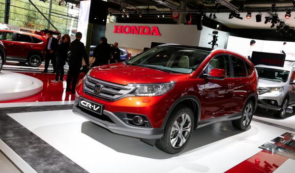 Honda CR-V 2012 salón París