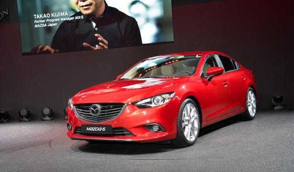 Mazda 6 2013 rojo
