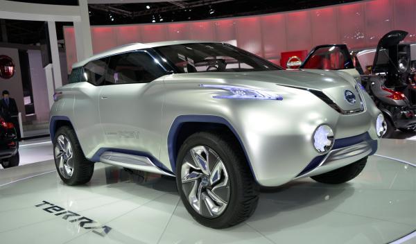 Nissan TeRRA salón parís
