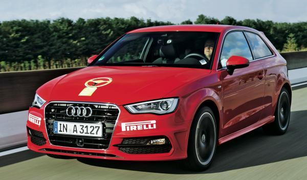 El Audi A3 fue el compacto mejor valorado con 1772 puntos.